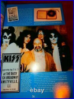 1966 1994 KISSTORY Jeff Kitts LTD LE VTG KISS BOOK PAUL STANLEY GENE SIMMONS