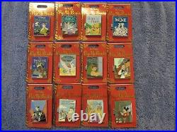 2019 Disney Pop Up Books Complete 12 Pin Limited Edition Set / Collection