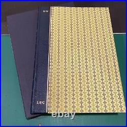 5 Book Lot Limited Editions Club Signed Numbered Slipcase First Edition Set LEC