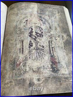 800 AD Book of Kells Facsimile. 678 page full color facsimile