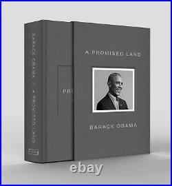 A Promised Land Deluxe Signed Edition Hardcover Barack Obama 9780593239049