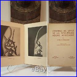 African Art book Kjersmeier Antiquarian YEAR 1935 Mask Statue Sculpture