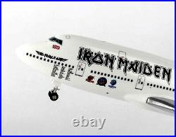 Airplane IRON MAIDEN The Book of Souls BOEING 747-400 Model 14 Inch Aircraft