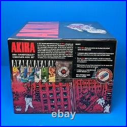 Akira 35th Anniversary Limited Edition Deluxe Box Set Hardcover Complete Manga