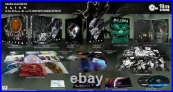Alien (1979) 4K Filmarena Embossed 3D Fullslip XL Steelbook 4K UHD Blu-ray