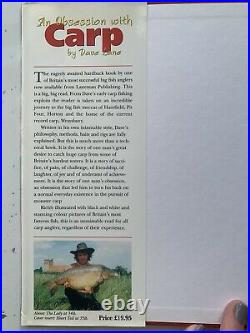 An Obsession with Carp by Dave Lane. 1998 Limited Edition Hardback Fishing Book