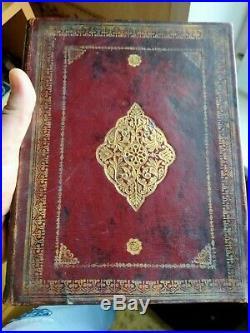 Ancient Muslim book handwritten. Rare books. Handwritten. Manuscript