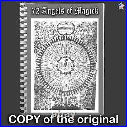 Antique book holy angels magick magic esoteric witch occult grimoire witchcraft