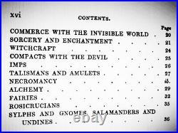 Antique book occult magic esoteric manuscript occultism witchcraft negromancy