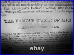Antique book witchcraft black magic occult sorcery satanic esoteric manuscript 1