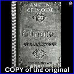 Antique manuscript book ancien grimoire dark magick witchcraft occult esoteric 1