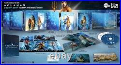 Aquaman FAC Filmarena Hardbox Box Oneclick Limited Edition Fullslip Steelbook