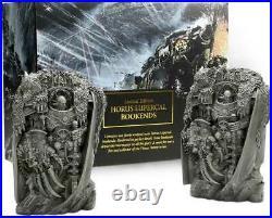 BLACK LIBRARY HORUS HERESY BOOK ENDS Buchstützen Limited Edition WARHAMMER 40K