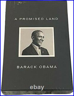 Barack Obama A Promised Land LIMITED DELUXE SIGNED EDITION Sealed in Orig Box