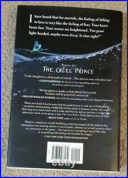 Barnes & Noble The Wicked King Holly Black Deleted Scene HC dust jacket