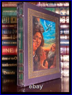 Bible's Book Of Genesis ARTIST SIGNED Sealed Easton Press Deluxe Limited 1/200