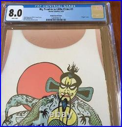 Big Trouble In Little China Variant Comic Book E #1 -CGC 8 -Limited 1 for 100