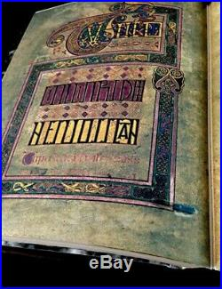 Book of Kells Facsimile. 678 page full color facsimile
