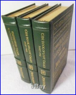 Book of Lost Tales V. 1&2, Unfinshed Tales J. R. R, Tolkien (2003 Leather Easton)
