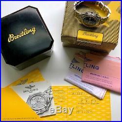 Breitling Chronomat Blackbird Automatic Watch A13350 Box & Warranty Book
