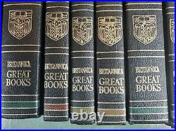 Britannica Great Books of the Western World 1952 Complete Set 1 54 1978 Print