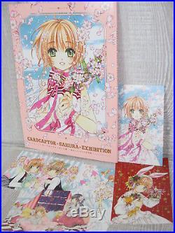CARDCAPTOR SAKURA EXHIBITION CLAMP Art Works & Postcard Japan 2018 Book Ltd