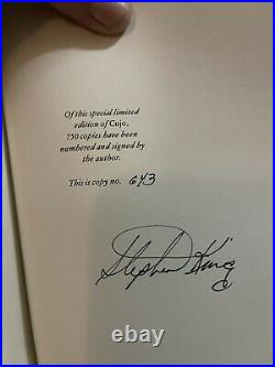 CUJO hc/dj/slipcase, Limited Signed Numbered by Stephen King, Hardcover Book