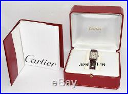 Cartier Tank Platinum Mecanique Limited Edition Watch Box & Books 1601 F