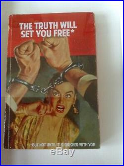 Connor Brothers'the Truth Will Set You Free' Rare Hand Finished Book 2015
