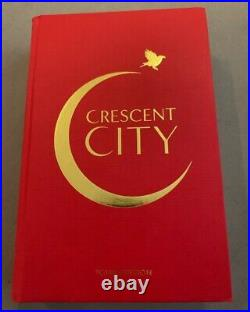 Crescent City House of Earth and Blood Signed Limited Tour Edition UK