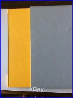 David Hockneys Alphabet art book signed by DH and Stephen Spencer