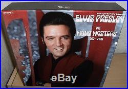 ELVIS PRESLEY 5 CD BOX SET with BOOK THE MONO MASTERS 1960 1975 2016 VENUS