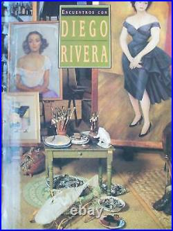 ENCUENTROS CON DIEGO RIVERA ART BOOK. 1993. Most Complete Book. Mexican Art