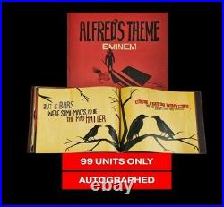 Eminem Alfred Theme Lyric Book Autographed Limited Edition 99 Pieces! SOLD OUT