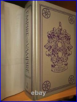 Empire of the Vampire Goldsboro limited-edition, Signed, Numbered, Sprayed Ed. NEW