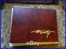 FRANK MCCARTHY THE OLD WEST DELUXE LIMITED EDITION oversized book & SIGNED PRINT