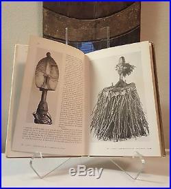 Fine African Art book RARE VINTAGE YEAR 1947 Mask Figure Sculpture Statue