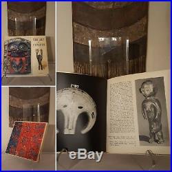 Fine African Art book YEAR Antiquarian 1958 Mask Figure Sculpture Statue