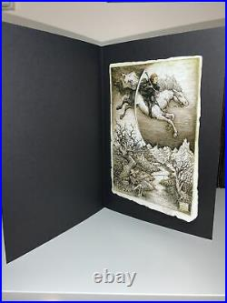 Folio Society Mort Terry Pratchett Limited Edition Book With Extras Discworld