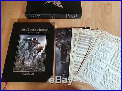 Forge World Horus Heresy Conquest Book 4 Warhammer OOP Limited Edition