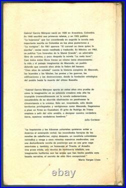 Gabriel Garcia Marquez, Book Cien Años De Soledad Edicion De Lujo 1971