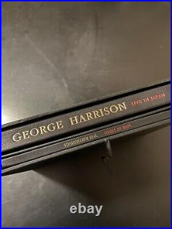 George Harrison Signed Japan 1991 Clapton Genesis Publications CD Book Box Set