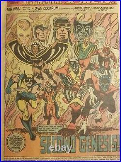 Giant Size X-men #1 1975 No Front Cover (see Pics & Description) Nice Rare Book