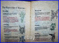 Grimoire of Heaven and Hell Oracle Occult Coptic Hand Bound Book McHenry 29/140