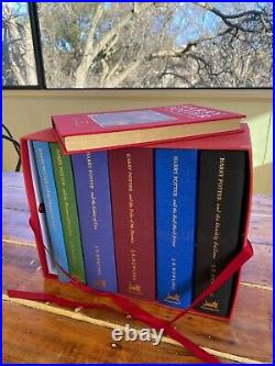 Harry Potter Deluxe limited edition book set all 7 books