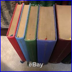 Harry Potter, J K Rowling, Deluxe Editions, UK, Books 1-7