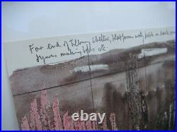 Henry Moore Signed And Numbered Lithographs Shelter Sketch Book Lot Of 2