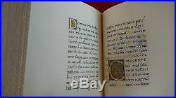 Iluminated Lorenzo de Medici Book of Hours Facsimile Limited Edition by Panini