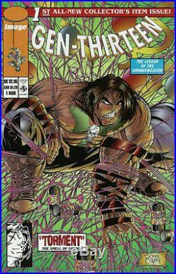 Image Comics Jim Lee Signed Gen 13 Limited Edition Slipcase Book Set FS 1995