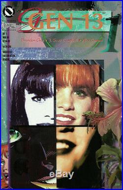 Image J Scott Cambell Signed Gen 13 Limited Edition Slipcase Book Set FS 1995